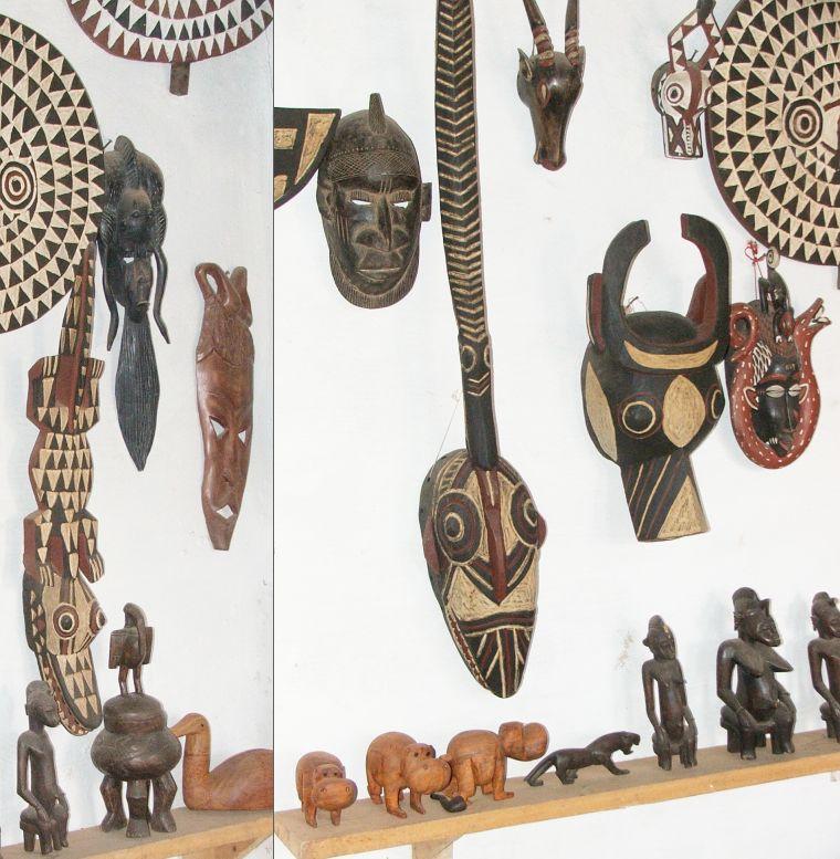 Ритуальные маски в Буркина - Фасо